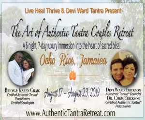 The Art of Authentic Tantra Couples Retreat @ Couples Sans Souci Resort